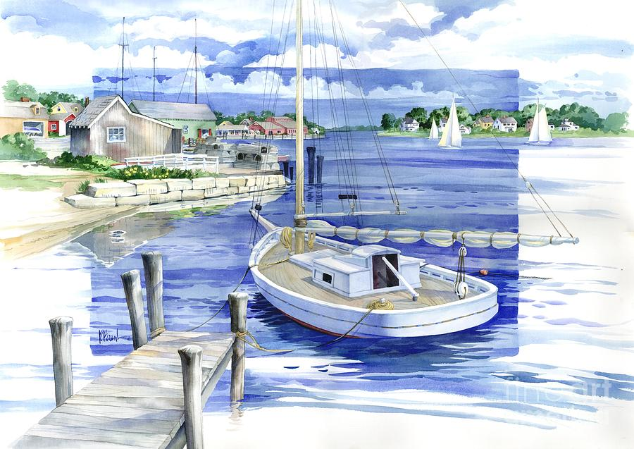 Harbor View Painting