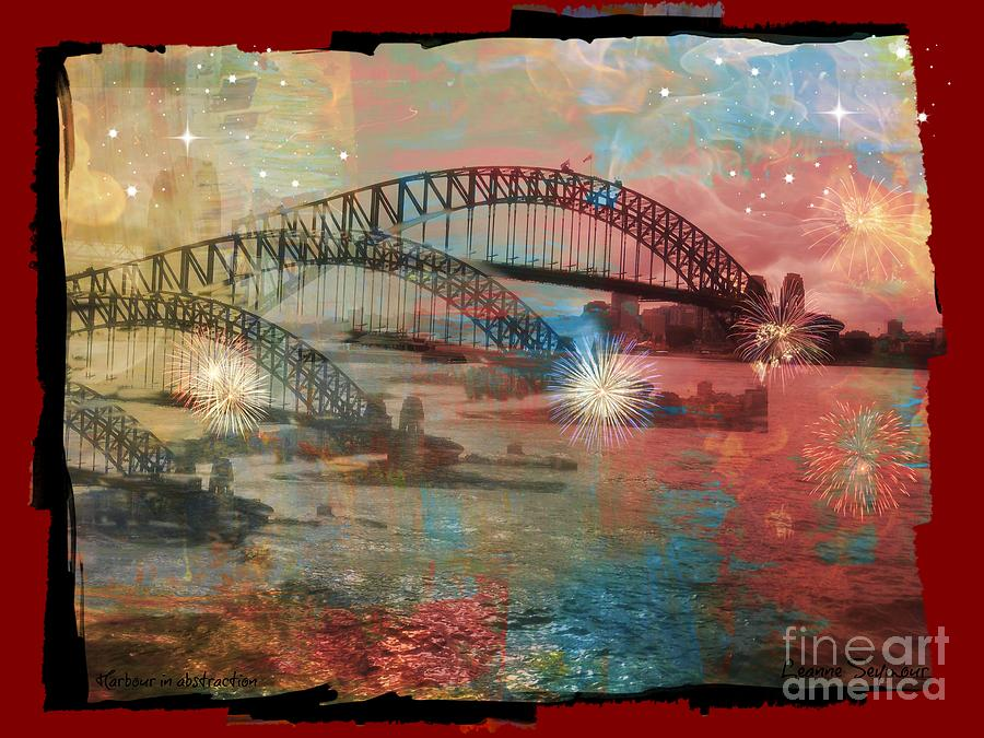 Harbour Photograph - Harbour In Abstraction by Leanne Seymour