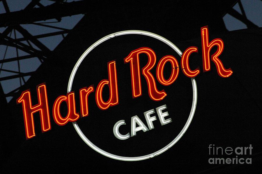Hard Rock - St. Louis Photograph
