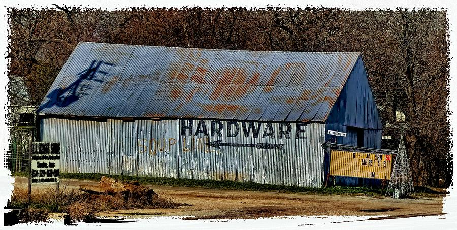 Hardware Soup Line Photograph  - Hardware Soup Line Fine Art Print