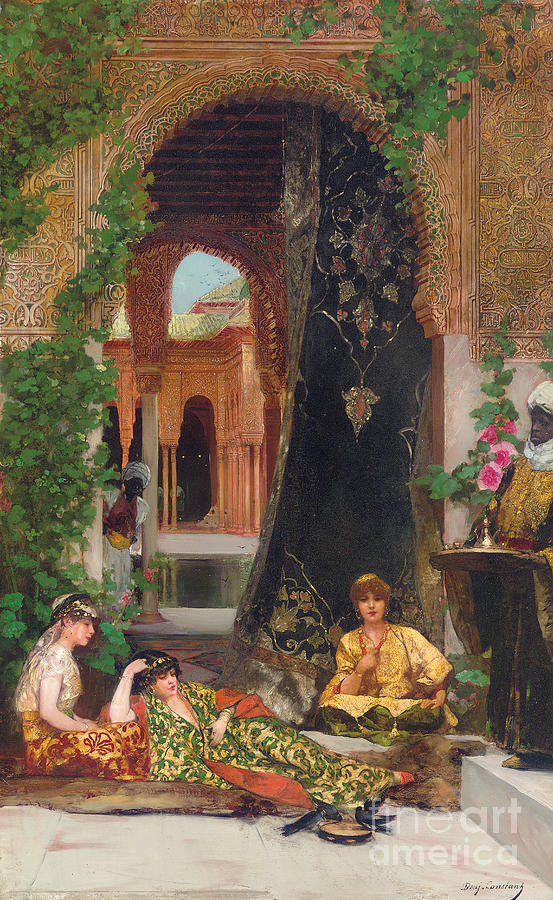 Harem Women Painting