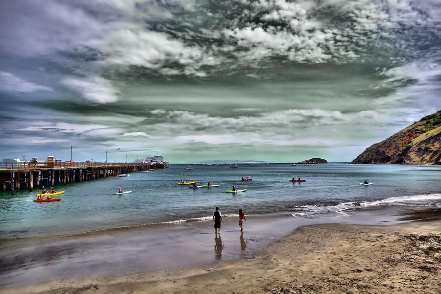 Harford Pier In Avila Beach Photograph  - Harford Pier In Avila Beach Fine Art Print