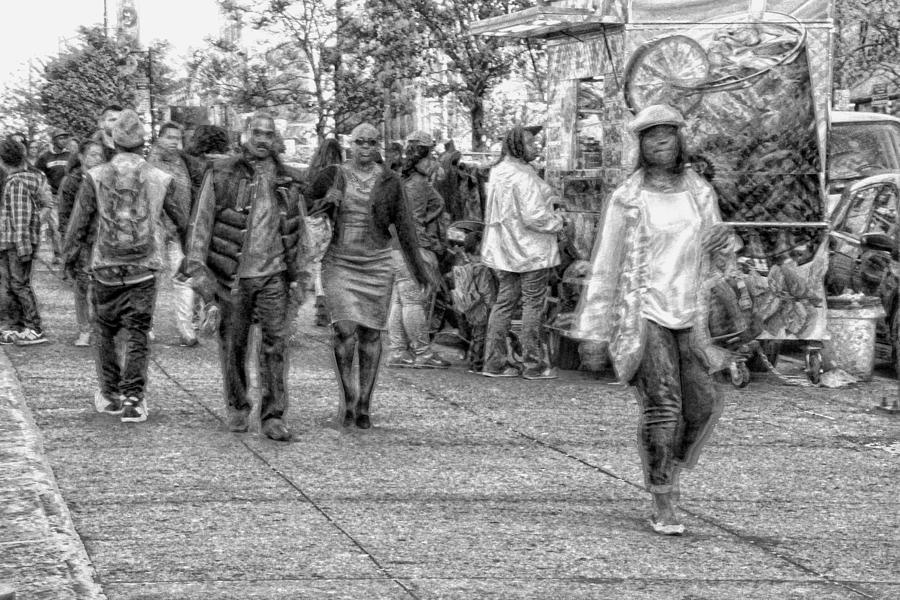 Harlem Flow Mixed Media