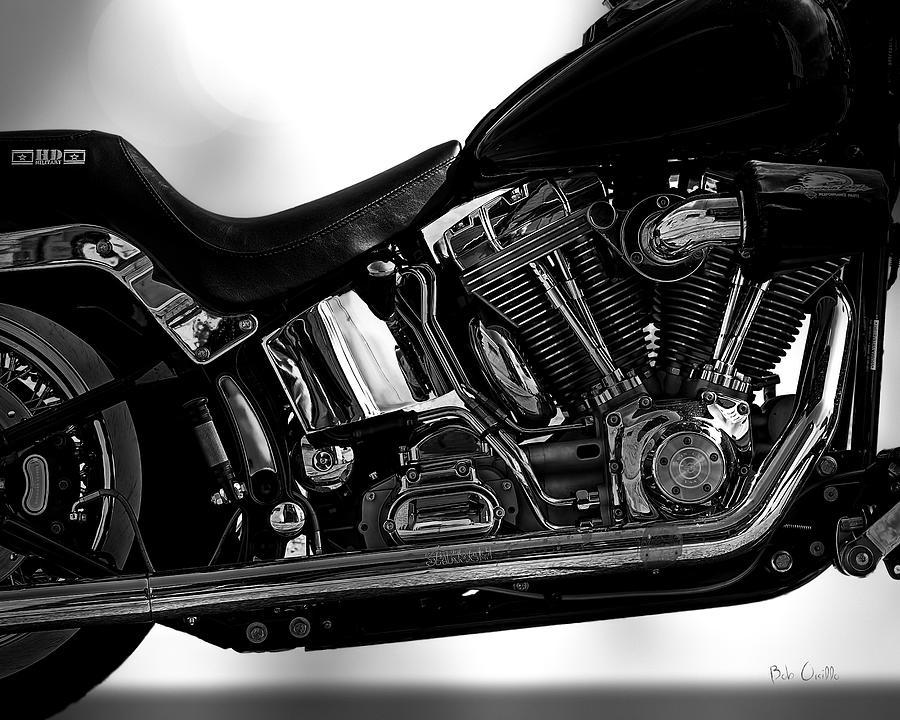 Harley Davidson  Military  Photograph