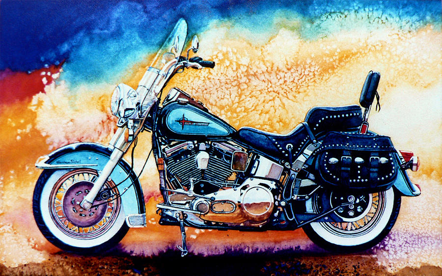 Harley Hog I Painting