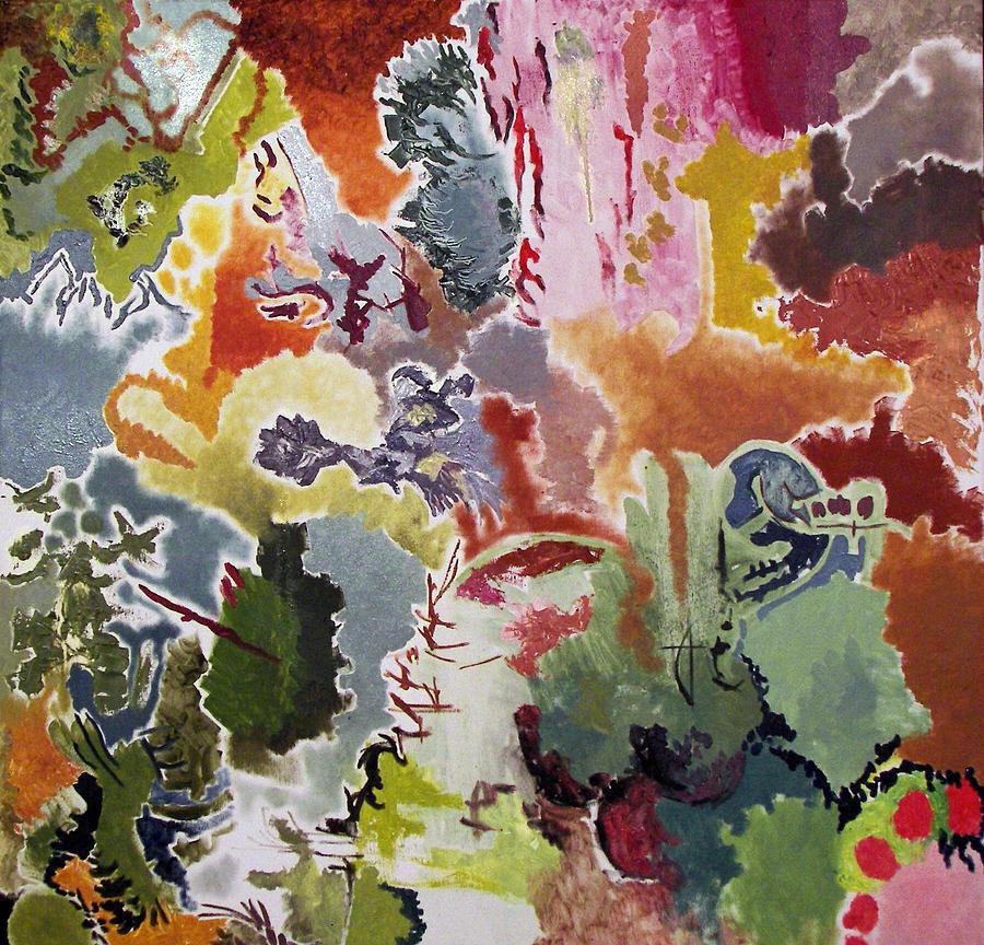 Abstract Painting - Harmonic 7 by Lazaros Kalogirou
