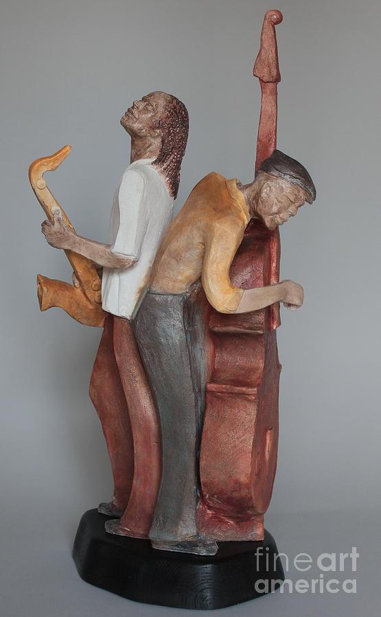 Harmonizing In D Sculpture