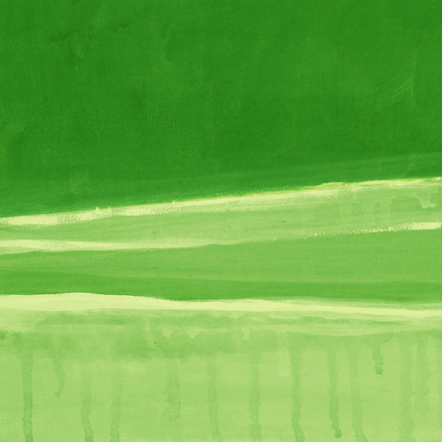 Harmony In Green Painting