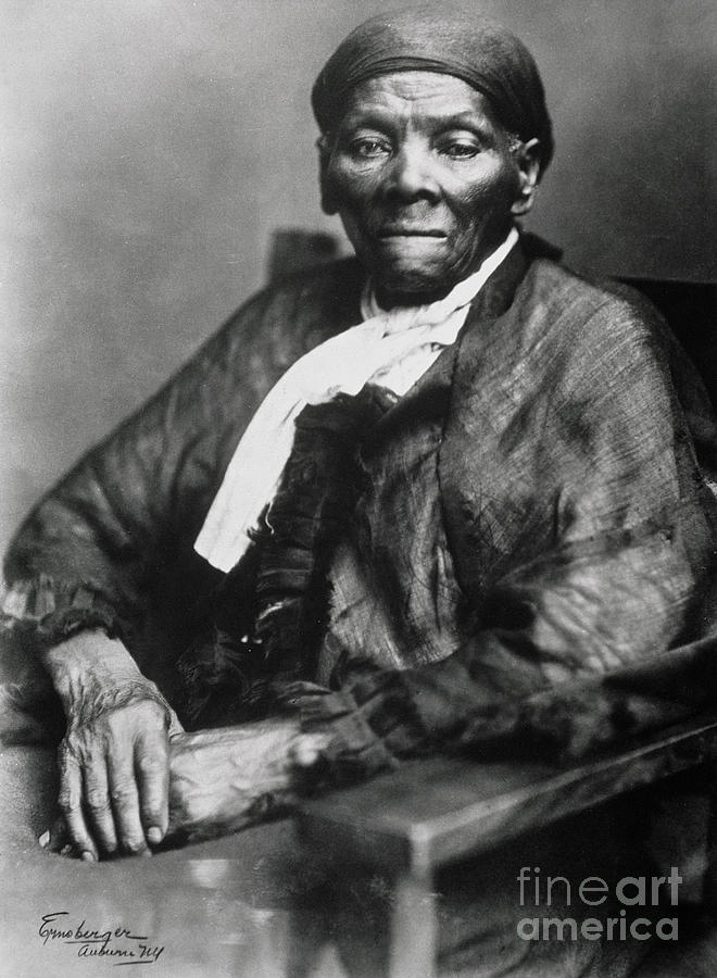 Female Photograph - Harriet Tubman  by American School