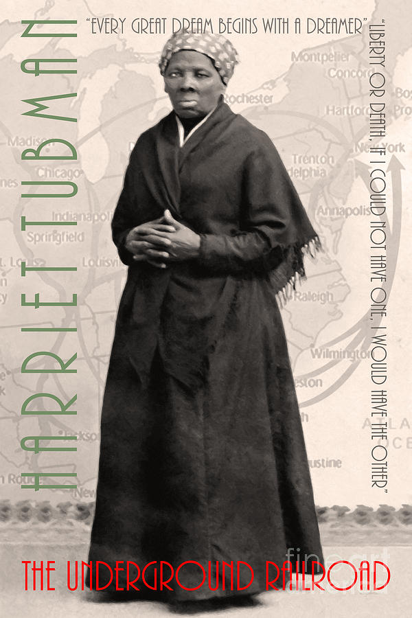 Underground railroad harriet tubman