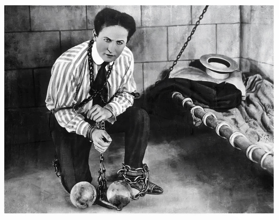 Harry Houdini   1874 - 1926 Photograph  - Harry Houdini   1874 - 1926 Fine Art Print