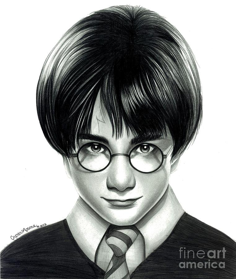 Harry Potter And The Philosophers Stone Drawing  - Harry Potter And The Philosophers Stone Fine Art Print