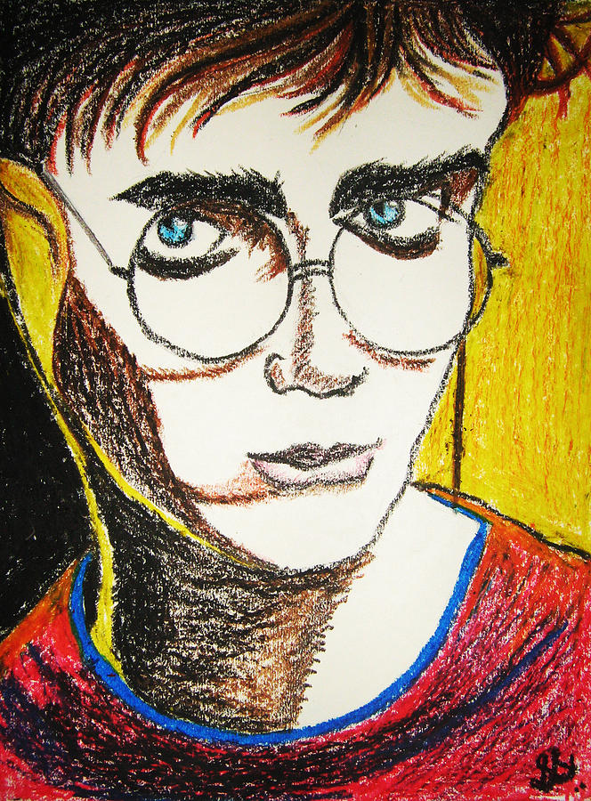 Harry Potter Pastel  - Harry Potter Fine Art Print