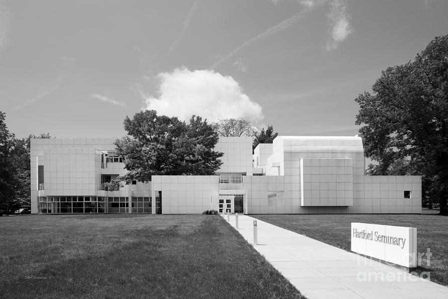 Hartford Seminary Photograph  - Hartford Seminary Fine Art Print