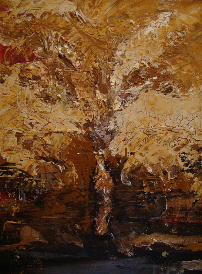 Tree Painting - Harvest by Holly Picano