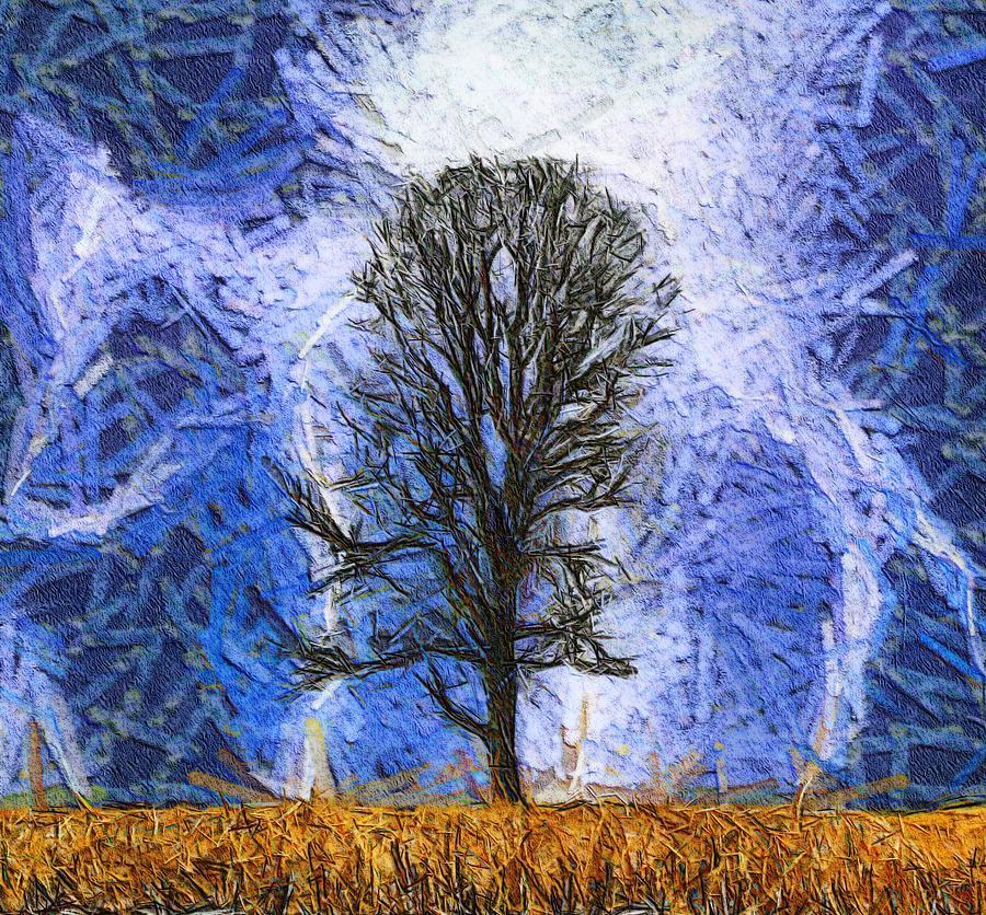 Harvest Storm Painting