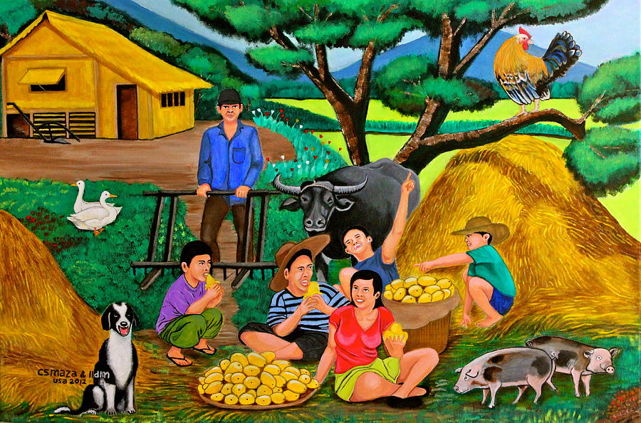 Harvest Time Painting