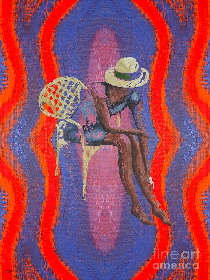 Hat 2 Painting  - Hat 2 Fine Art Print