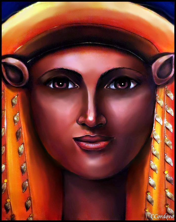 Hathor- The Goddess Painting