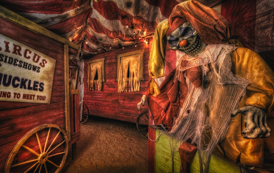 Haunted Circus Photograph By Daniel George