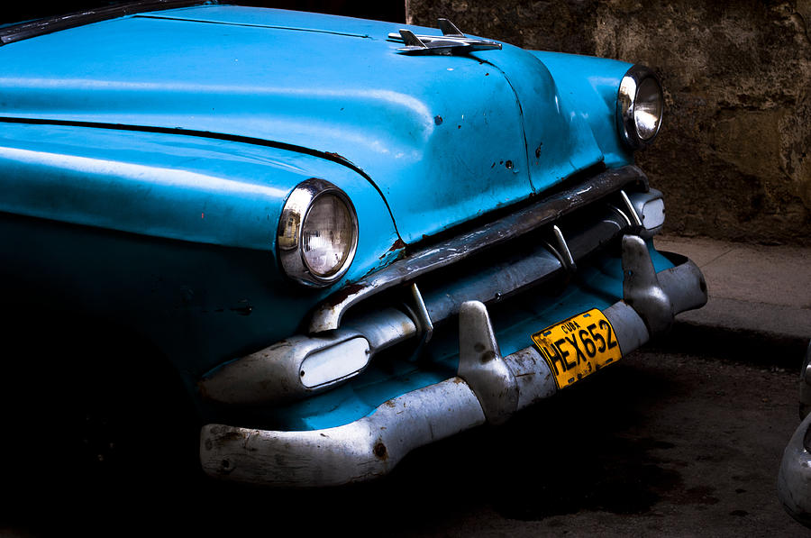 Havana Blues Photograph  - Havana Blues Fine Art Print