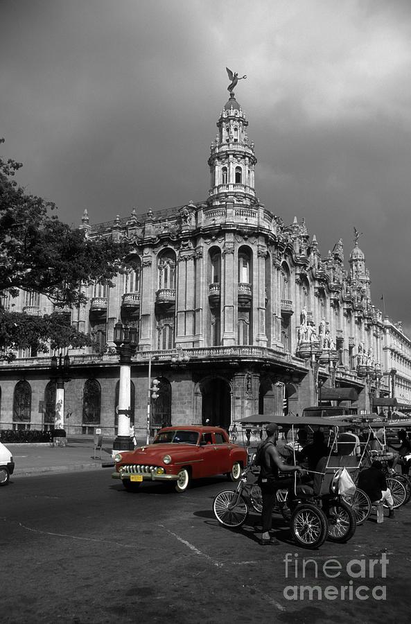 Cuba Photograph - Havana Red by James Brunker