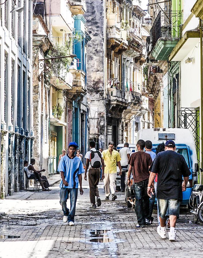 Havana Street Vii Photograph