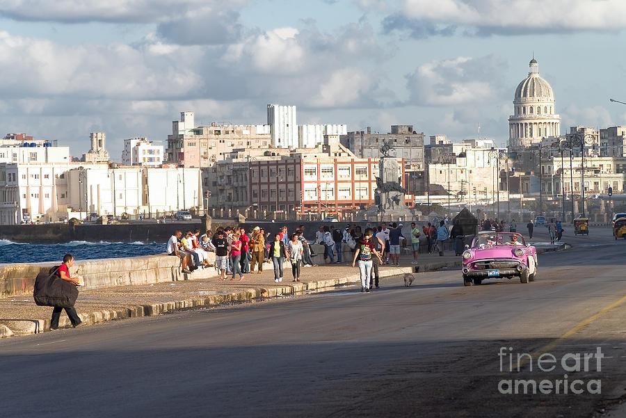 Havanna - Malecon Photograph