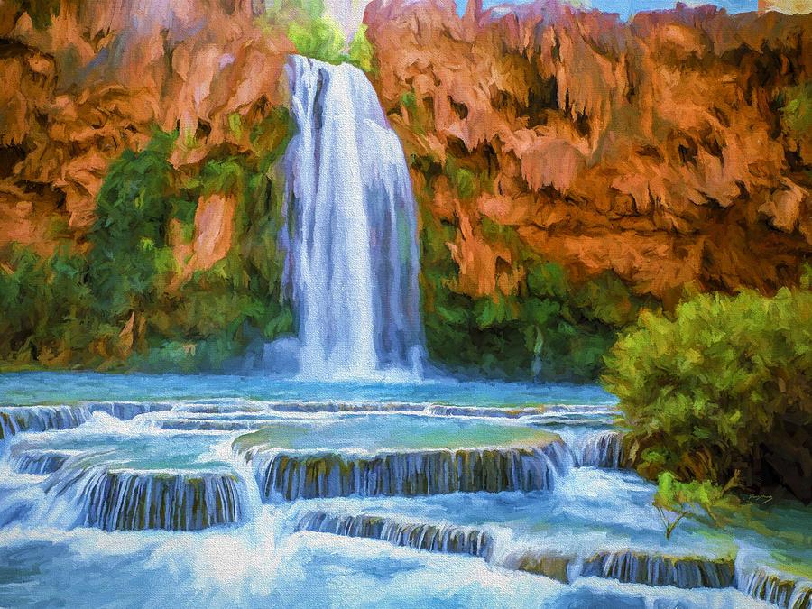 Havasu Falls Painting