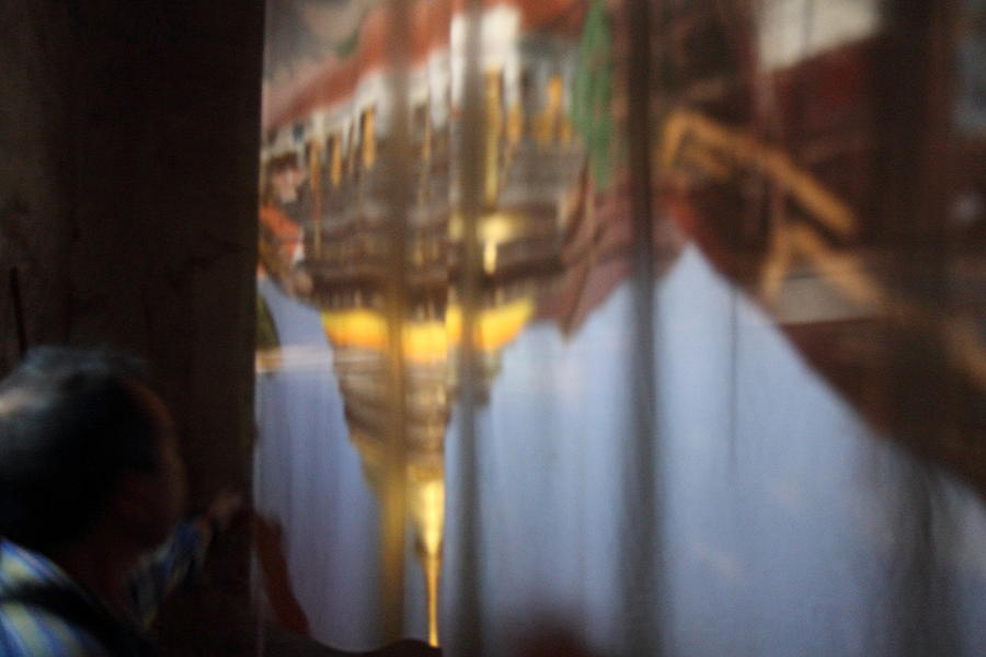 Haw Phra Phuttabhat Chamber - Wat Phra That Lampang Luang - Lampang Thailand - 01131 Photograph