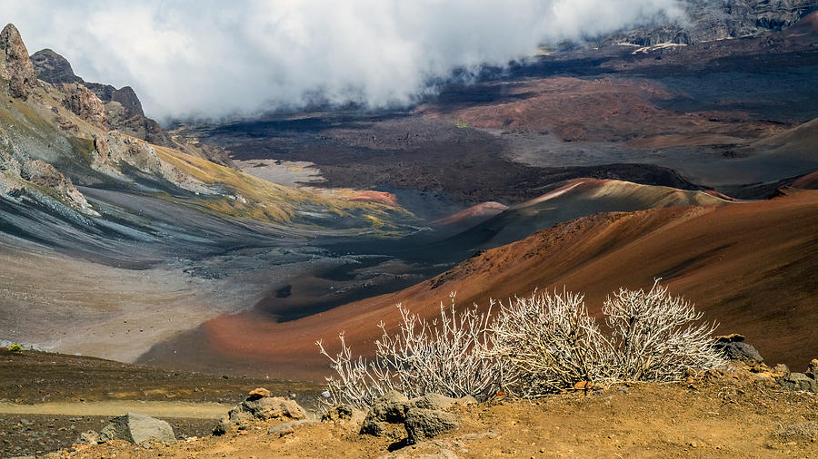 Hawaii Volcano Landscape Photograph