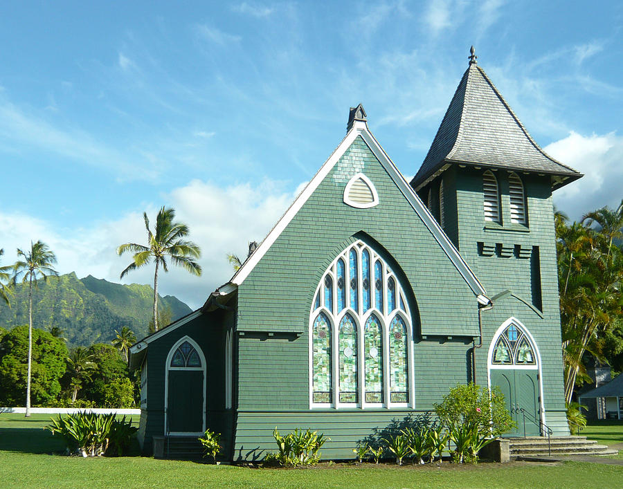 Hawaiian Church Photograph  - Hawaiian Church Fine Art Print