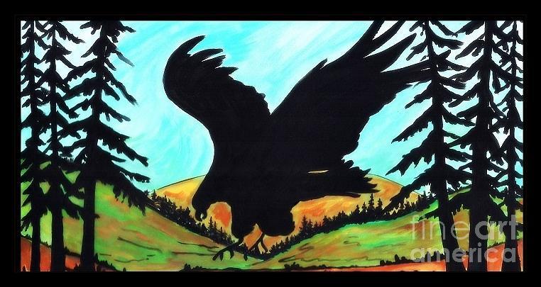 Hawk Eye Creek Painting