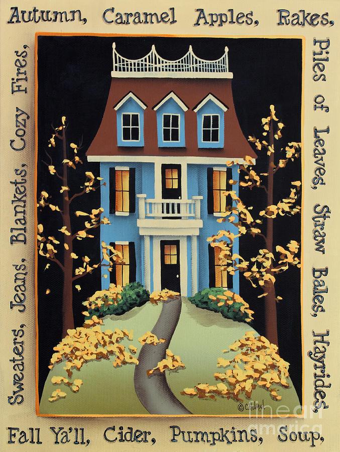 Hawthorne Knoll Painting