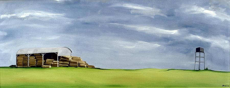 Haybarn Dreaming Painting