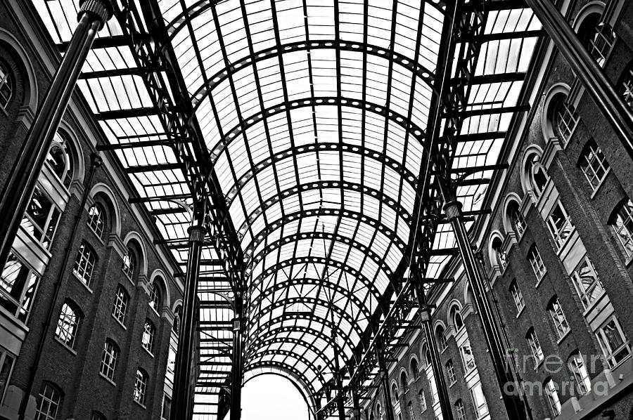 Hays Galleria Roof Photograph