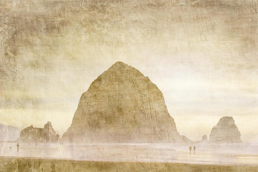 Haystack Rock Photograph - Haystack Rock by Carol Leigh