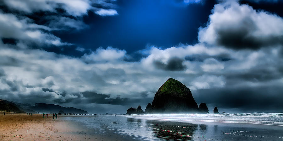 Cannon Beach Photograph - Haystack Rock IIi by David Patterson