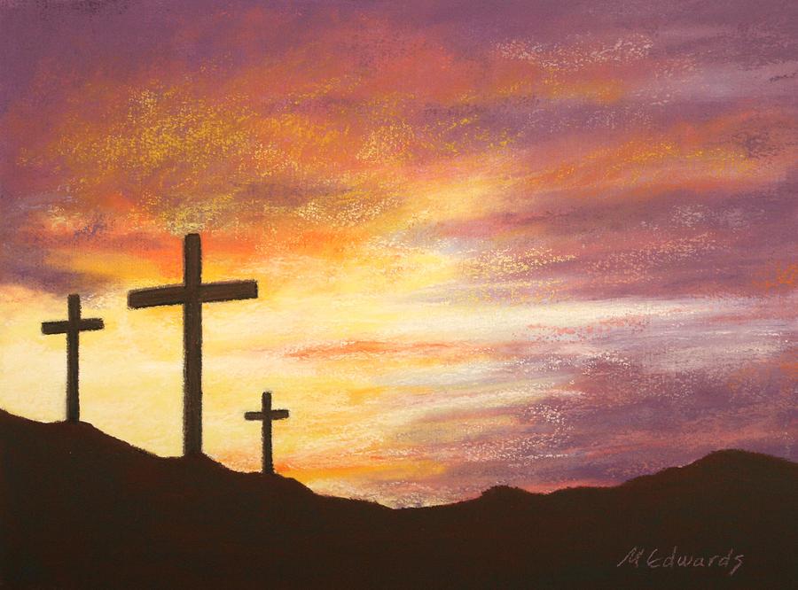 He Is Risen Pastel