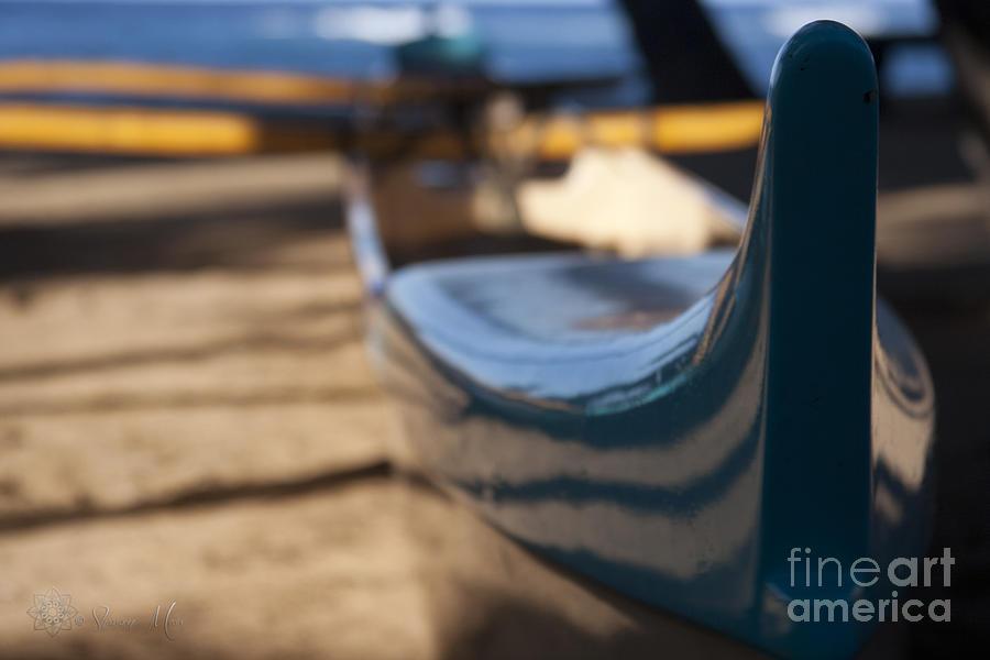 He Waa He Moku He Moku He Waa - Hawaiian Outrigger Canoe Photograph