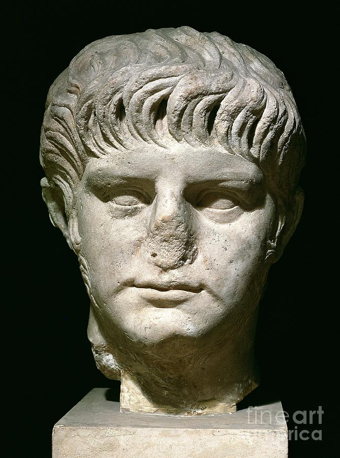 Head Of Nero Sculpture  - Head Of Nero Fine Art Print