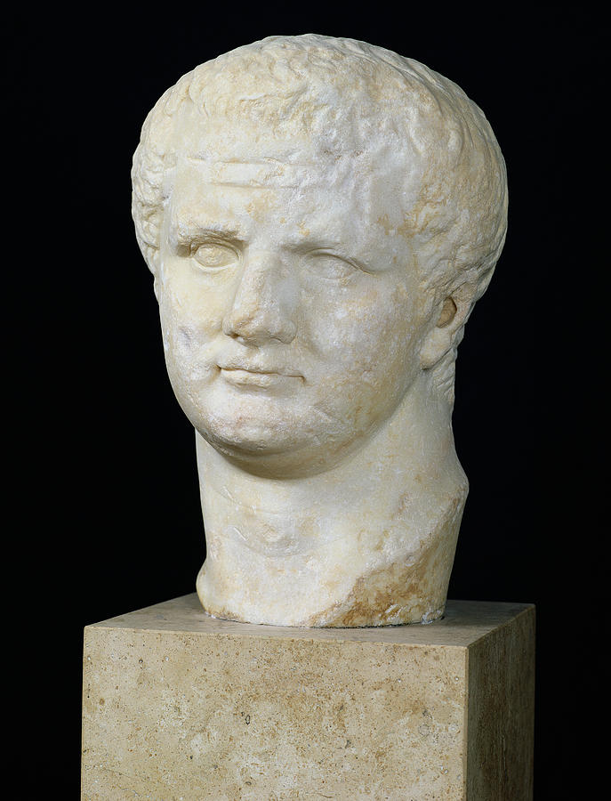 Head Of Titus Sculpture