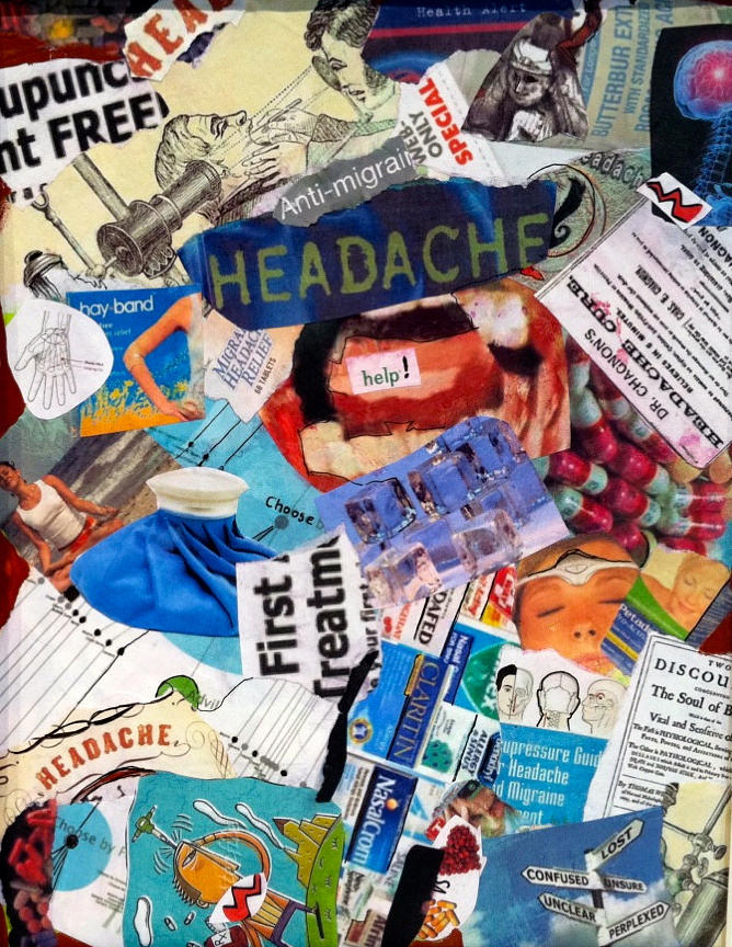 Headache Painting - Headache by Susie Stockholm