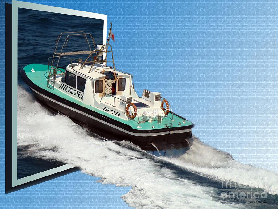 Heading Back To Sea Digital Art