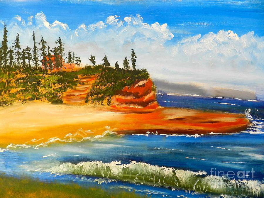 Headlands Painting