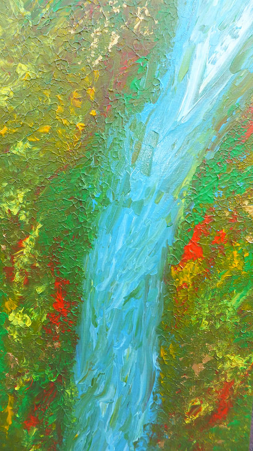 Healing Waters Painting  - Healing Waters Fine Art Print