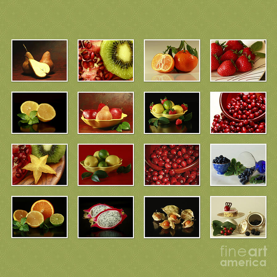 Healthy International Fruits Collection Photograph