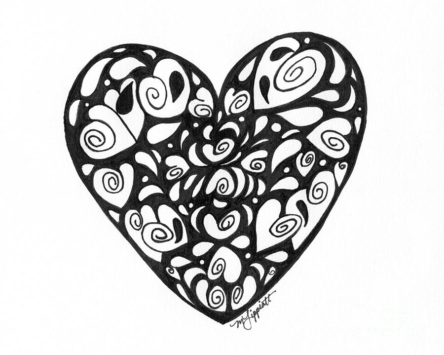 Free Drawings Of Heart, Download Free Clip Art, Free Clip ... |Pencil Drawings Of Love Hearts