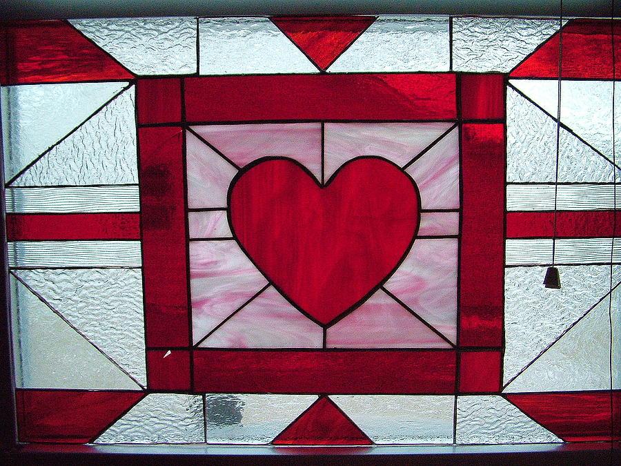 Heart Of Glass Glass Art