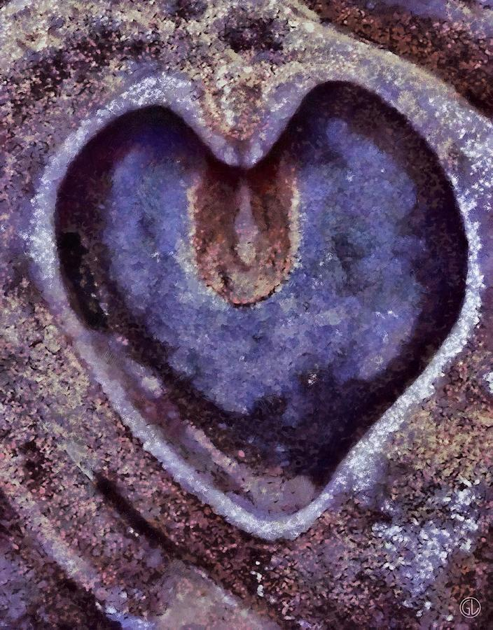 Heart Of Stone Digital Art  - Heart Of Stone Fine Art Print
